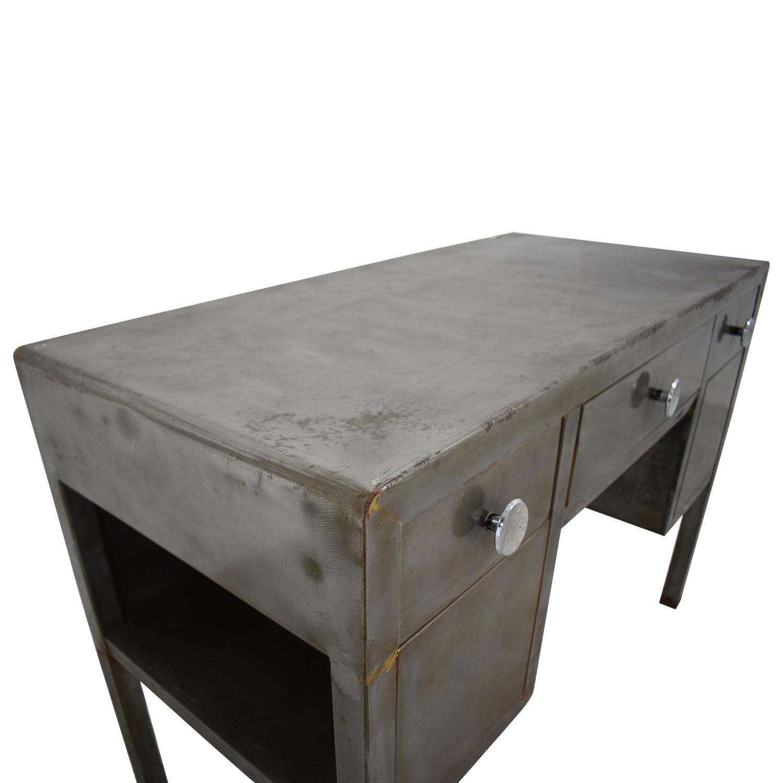 Industrial Three-Drawer Desk price