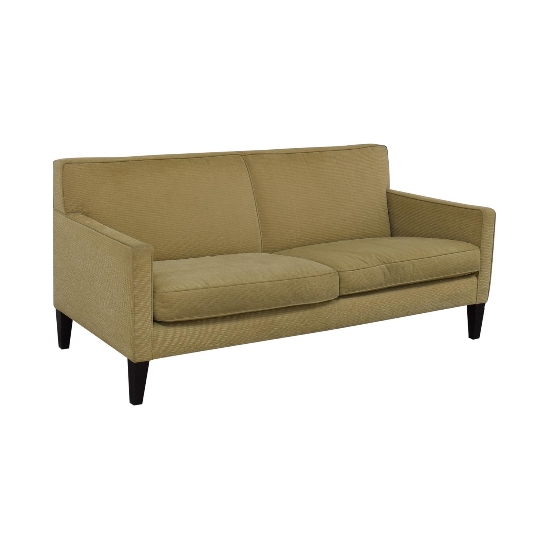 Crate & Barrel Crate & Barrel Rochelle Fabric Sofa discount