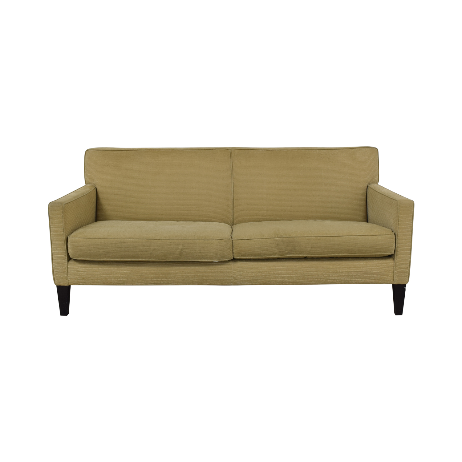 Crate & Barrel Rochelle Fabric Sofa / Sofas