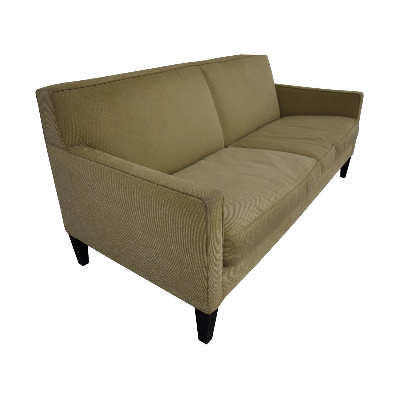 Crate & Barrel Rochelle Fabric Sofa sale