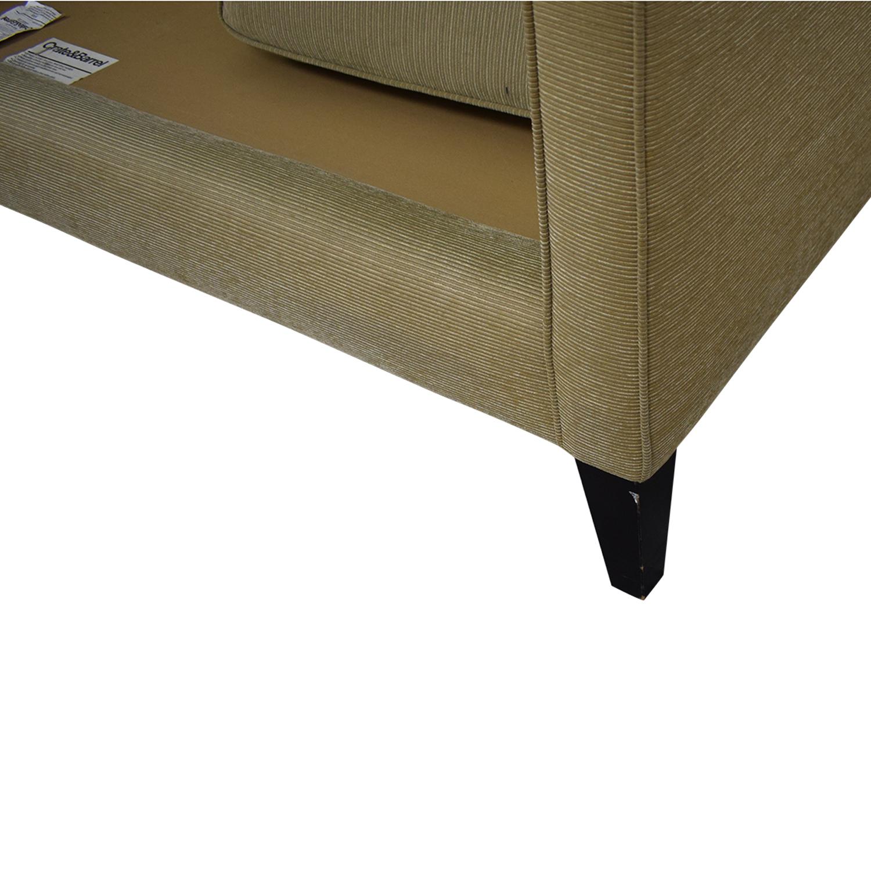 Crate & Barrel Rochelle Fabric Sofa / Classic Sofas