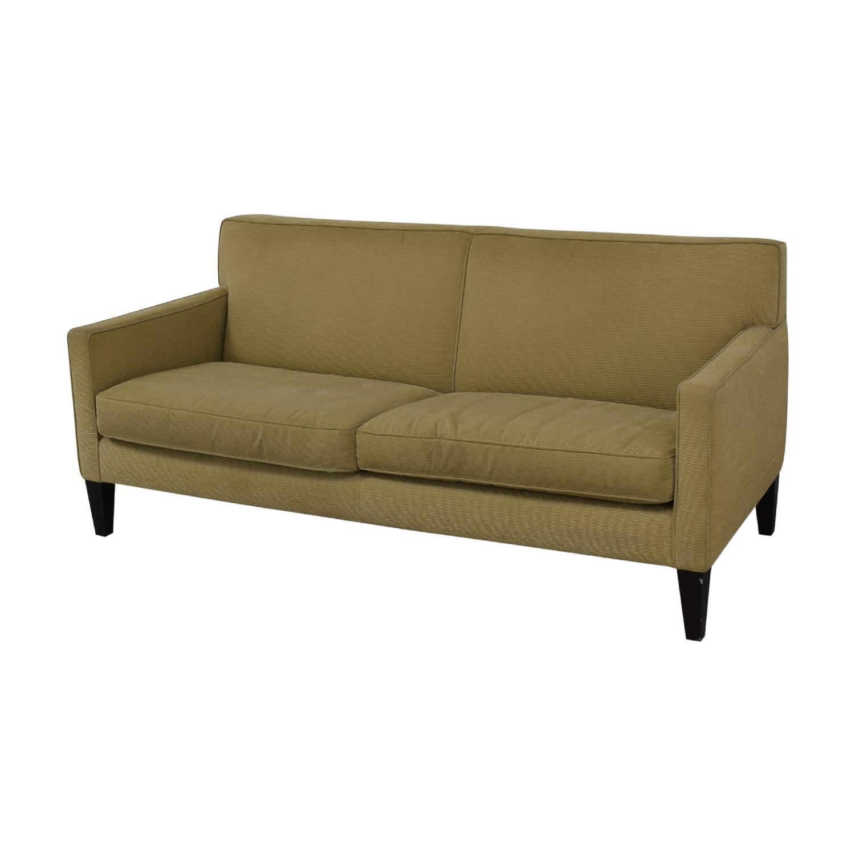 Crate & Barrel Rochelle Fabric Sofa / Sofas
