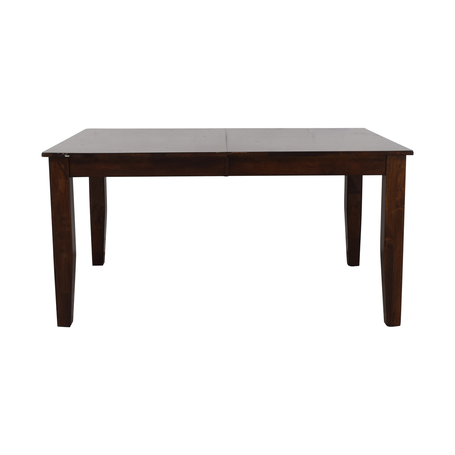 Raymour & Flanigan Raymour & Flanigan Kona Dining Table with Leaf Brown