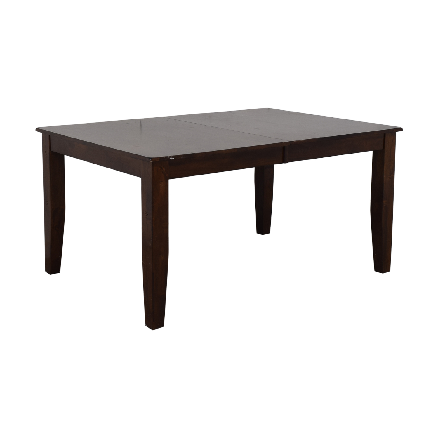 Raymour & Flanigan Raymour & Flanigan Kona Dining Table with Leaf nyc