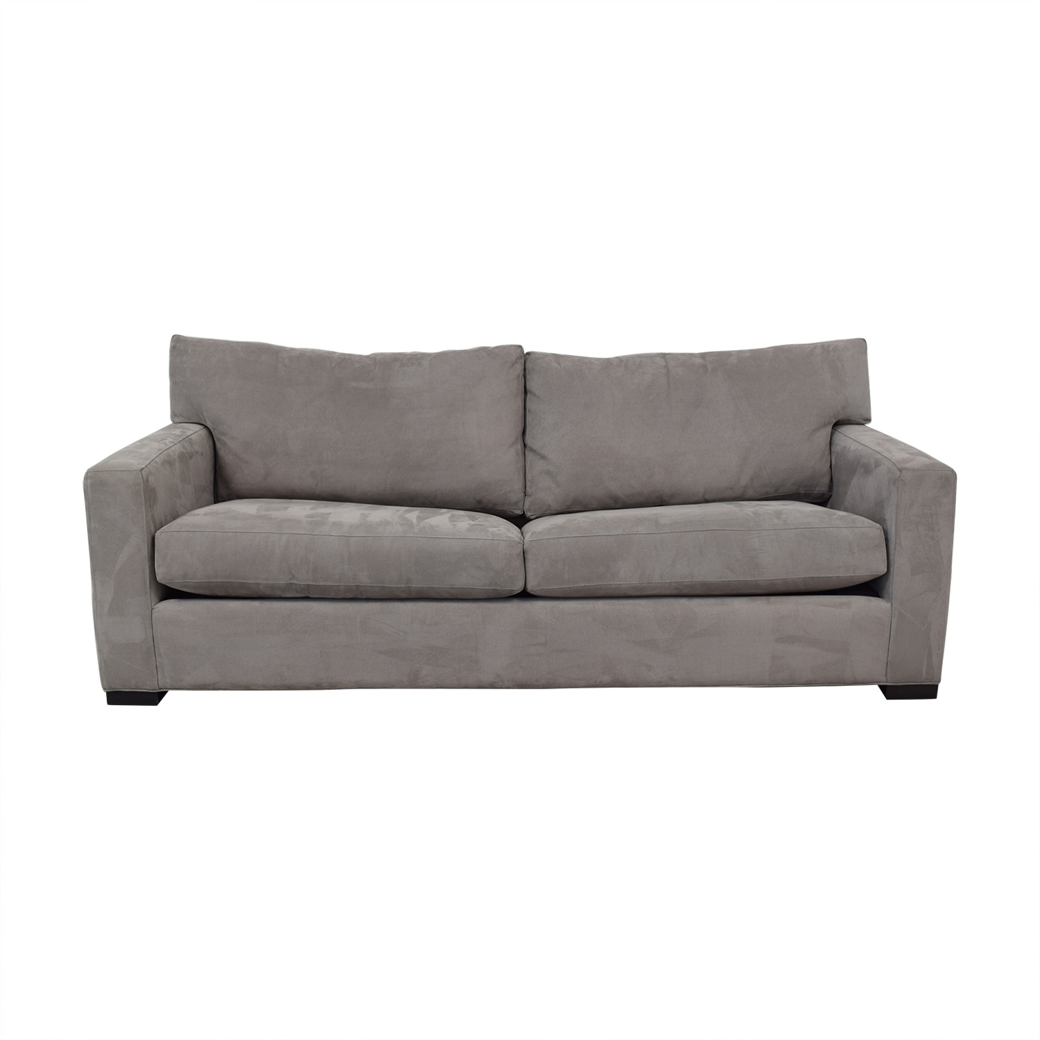 buy Crate & Barrel Axis II 2-Seat Queen Grey Sleeper Sofa Crate & Barrel Sofas