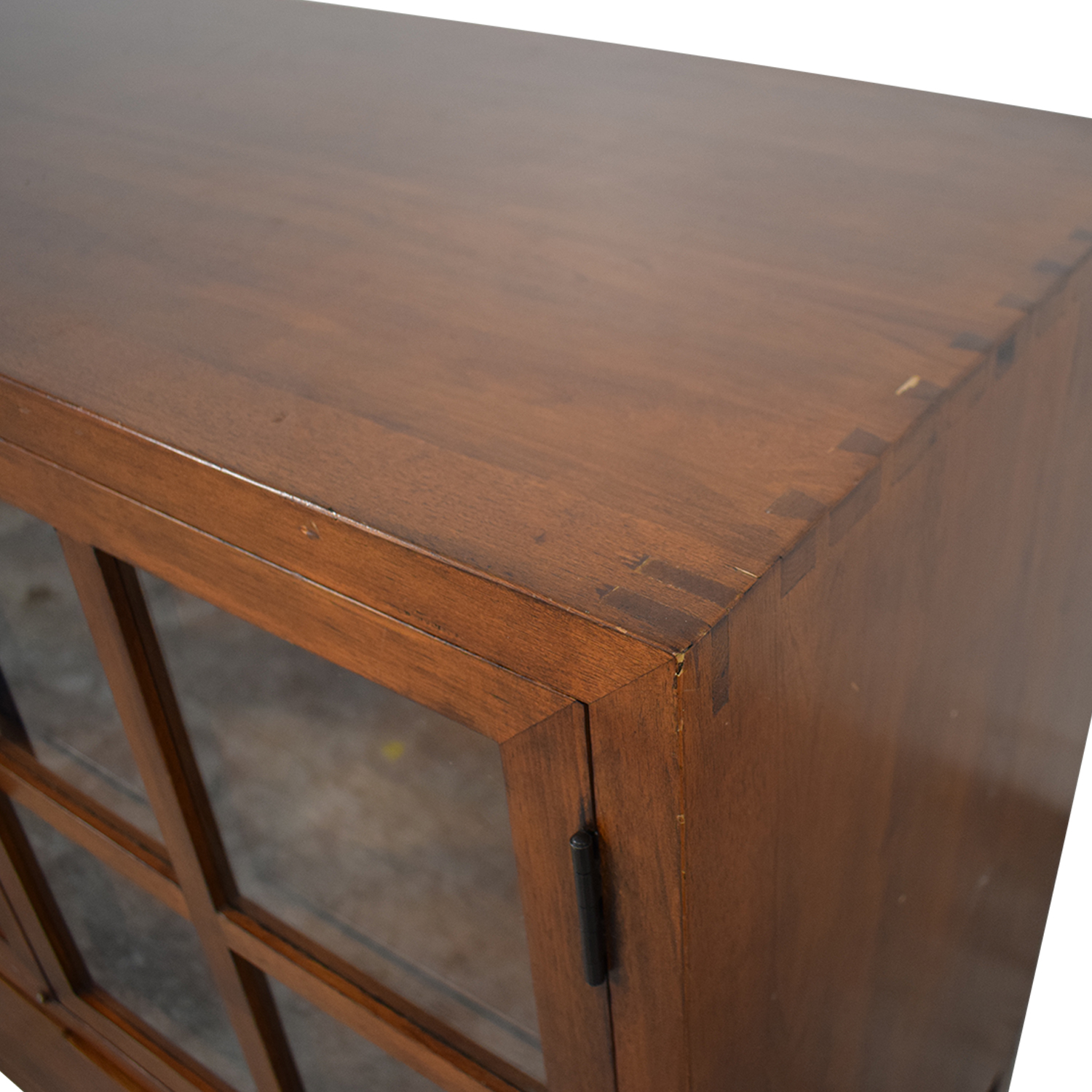 Crate & Barrel Crate & Barrel Sideboard with Glass Doors used