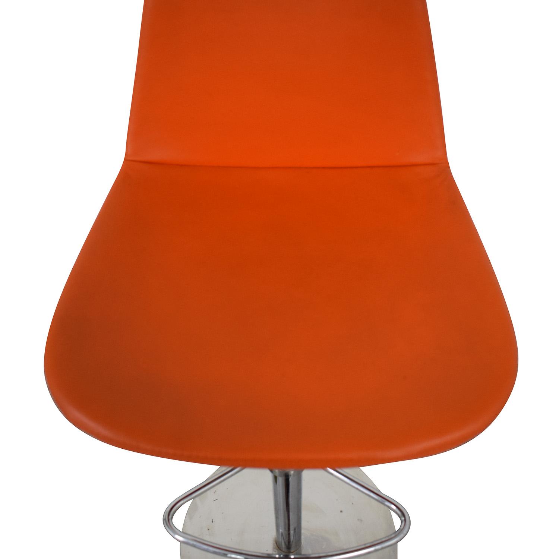 BiF Furniture BiF Furniture Orange and Green Bar Stools dimensions