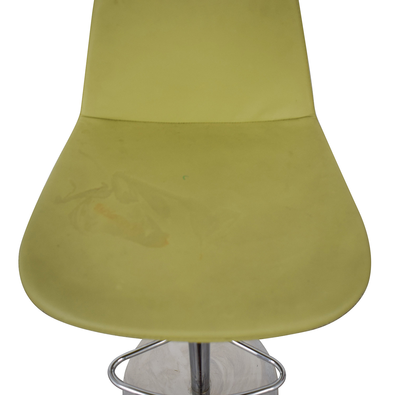 BiF Furniture BiF Furniture Orange and Green Bar Stools nj
