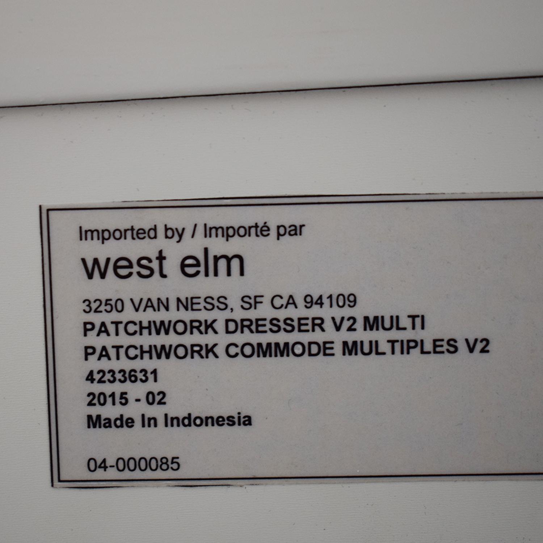 buy West Elm Patchwork Dresser West Elm Dressers