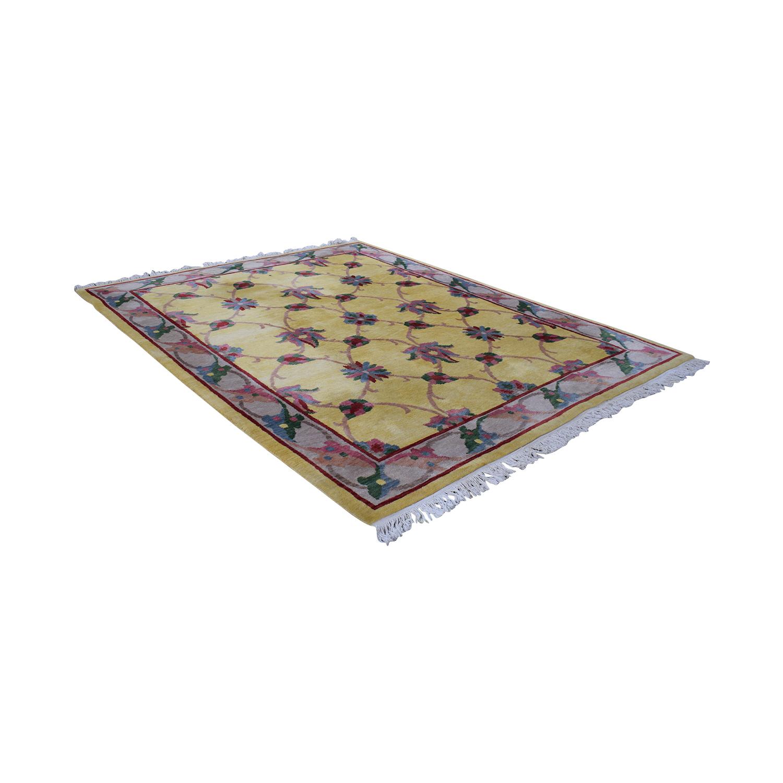 ABC Carpet & Home ABC Carpet & Home Oriental Wool Rug Rugs