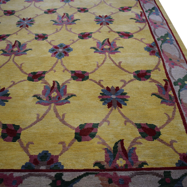 ABC Carpet & Home Oriental Wool Rug sale