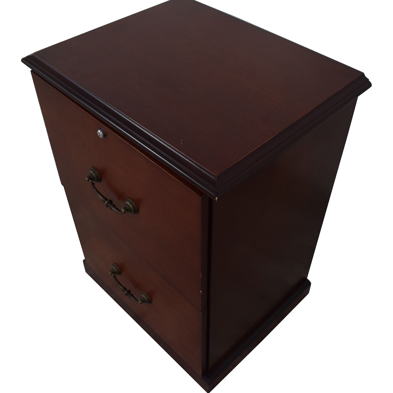 Staples Two Drawer Filing Cabinet / Filing & Bins