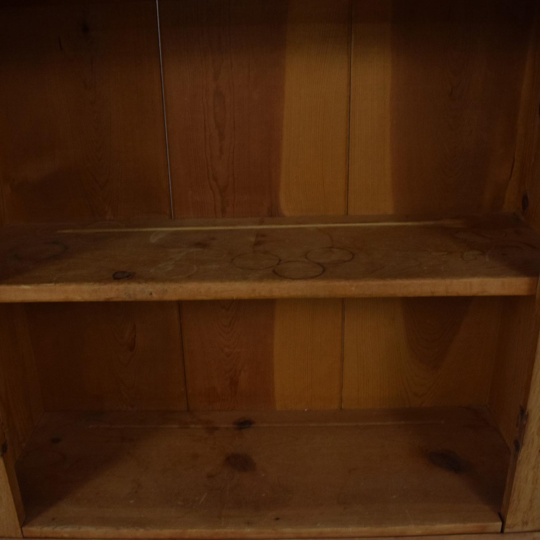 Three-Shelf Hutch Cabinets & Sideboards