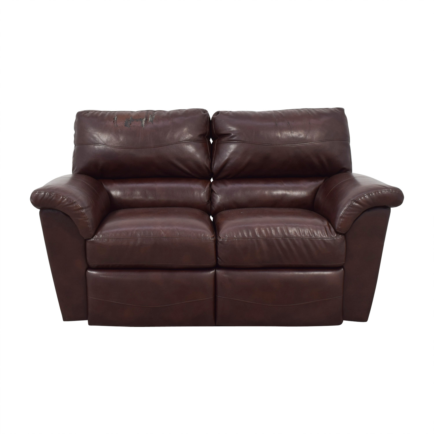 La-Z-Boy La Z Boy Oscar Leather Reclining Love Seat for sale