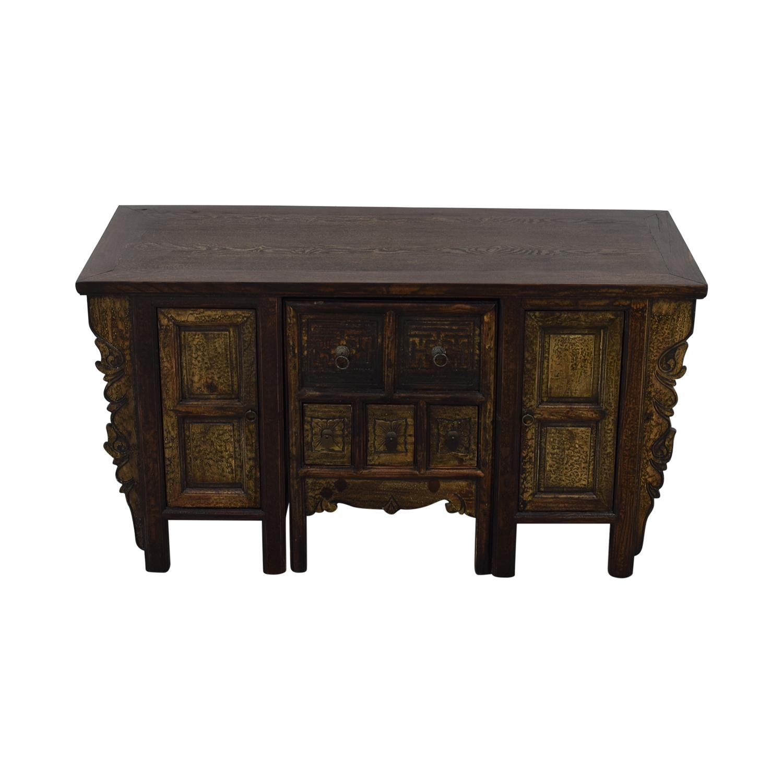 Arhaus Arhaus Custom Desk With Hidden Chair / Tables