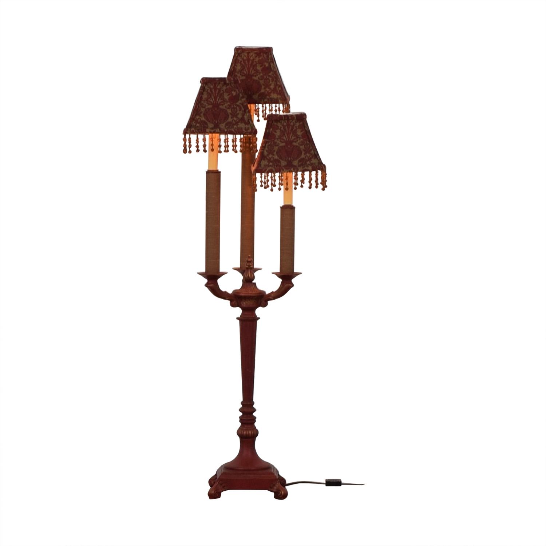 shop Antique Dual Mode Triple Lamp  Lamps