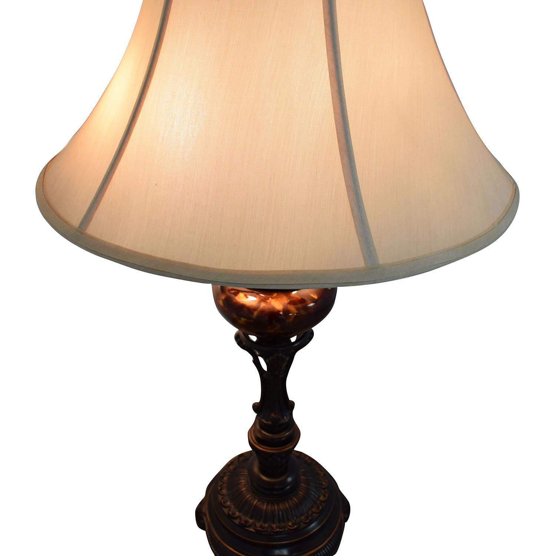 Ornate Candelabra Lamp for sale