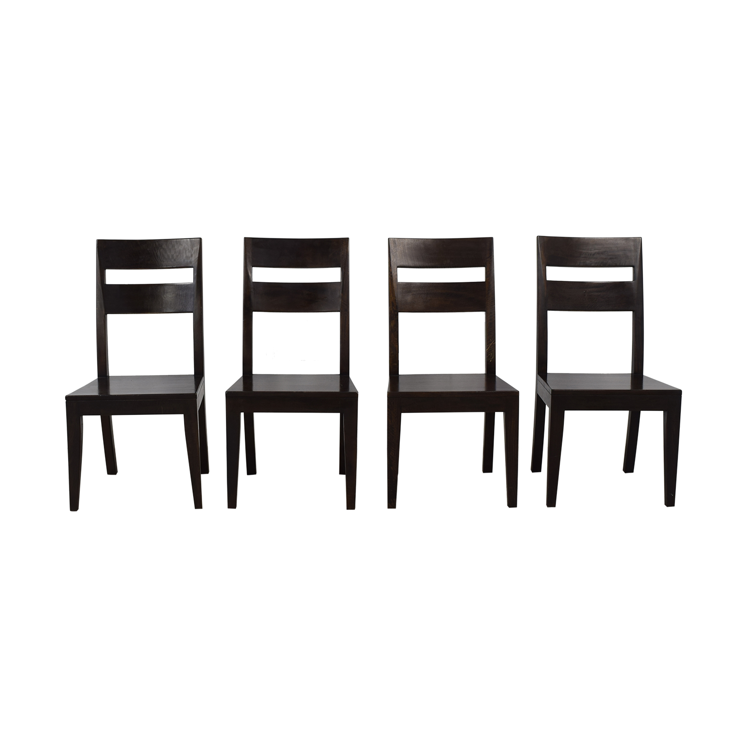Crate & Barrel Crate & Barrel Basque Dining Chairs nj
