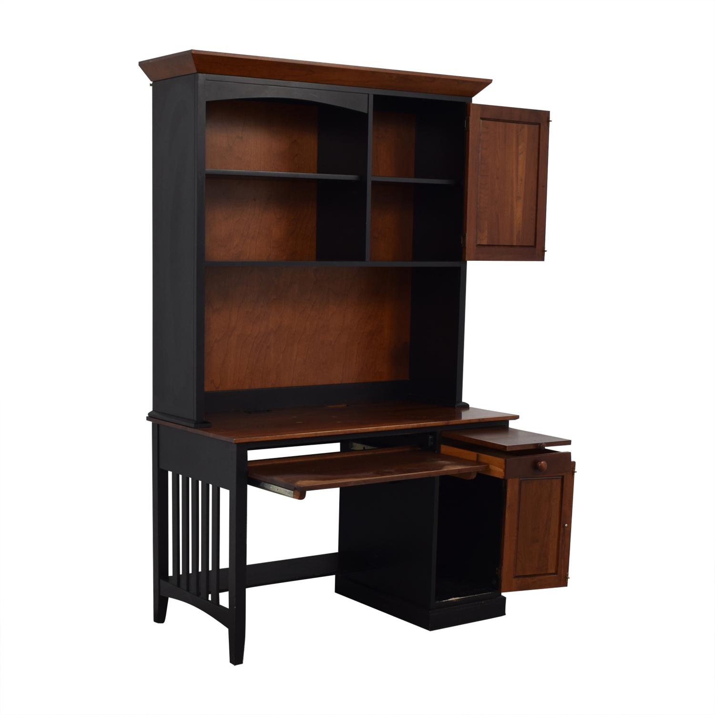 shop Ethan Allen Ethan Allen Computer Desk With Hutch online