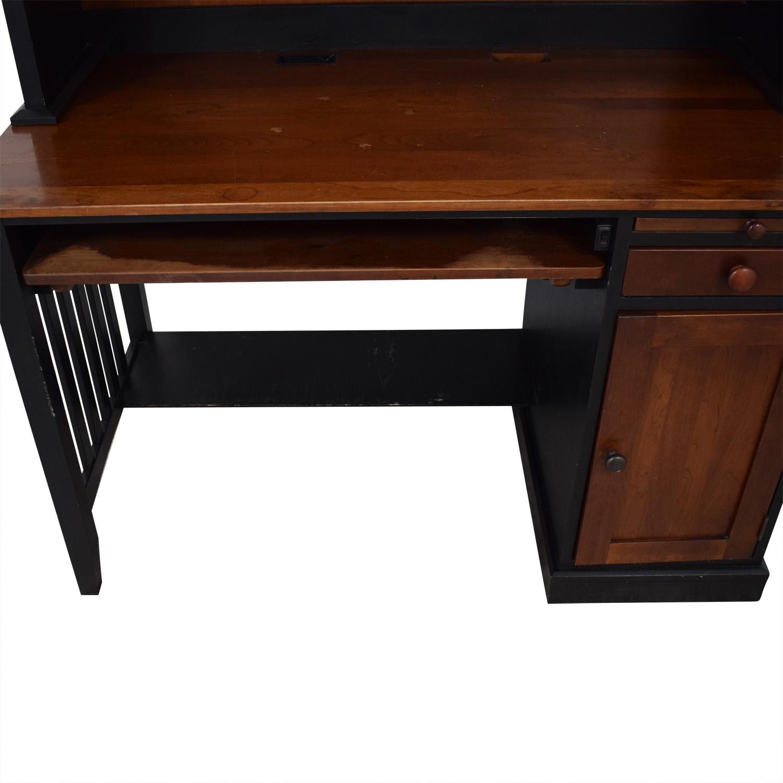 Ethan Allen Ethan Allen Computer Desk With Hutch brown
