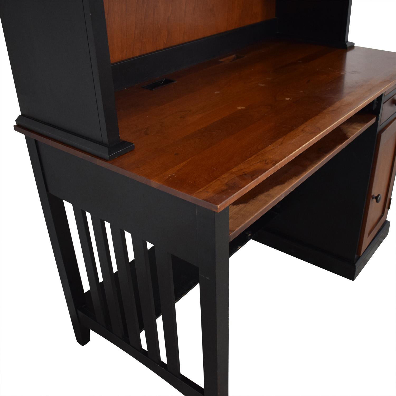 buy Ethan Allen Computer Desk With Hutch Ethan Allen Home Office Desks