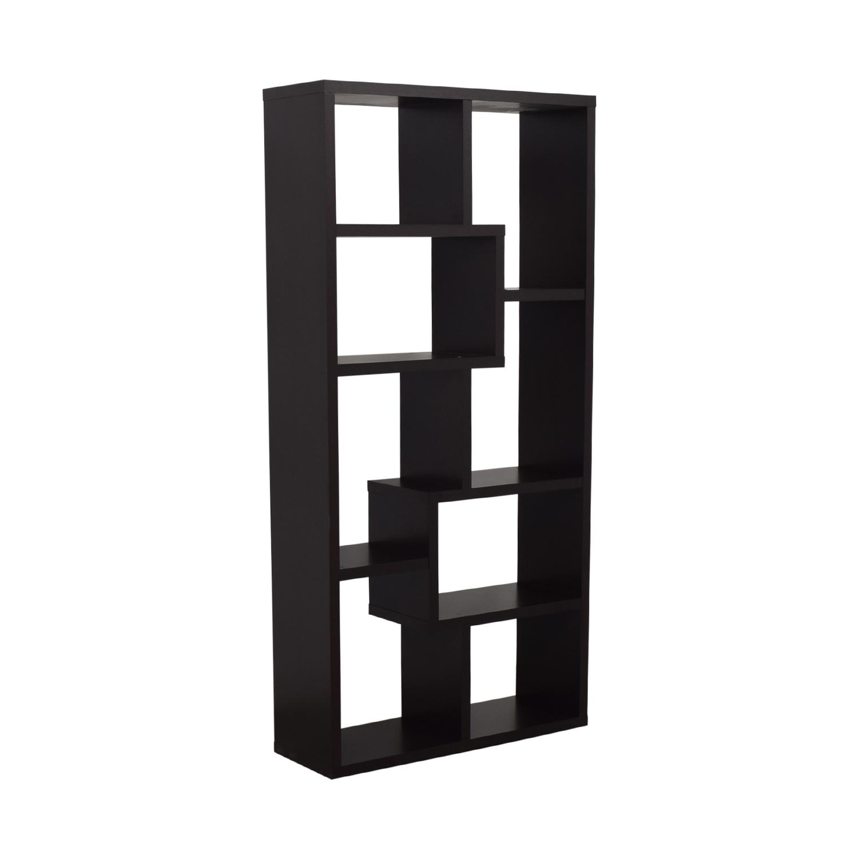 shop AllModern Geometric Bookcase AllModern Storage