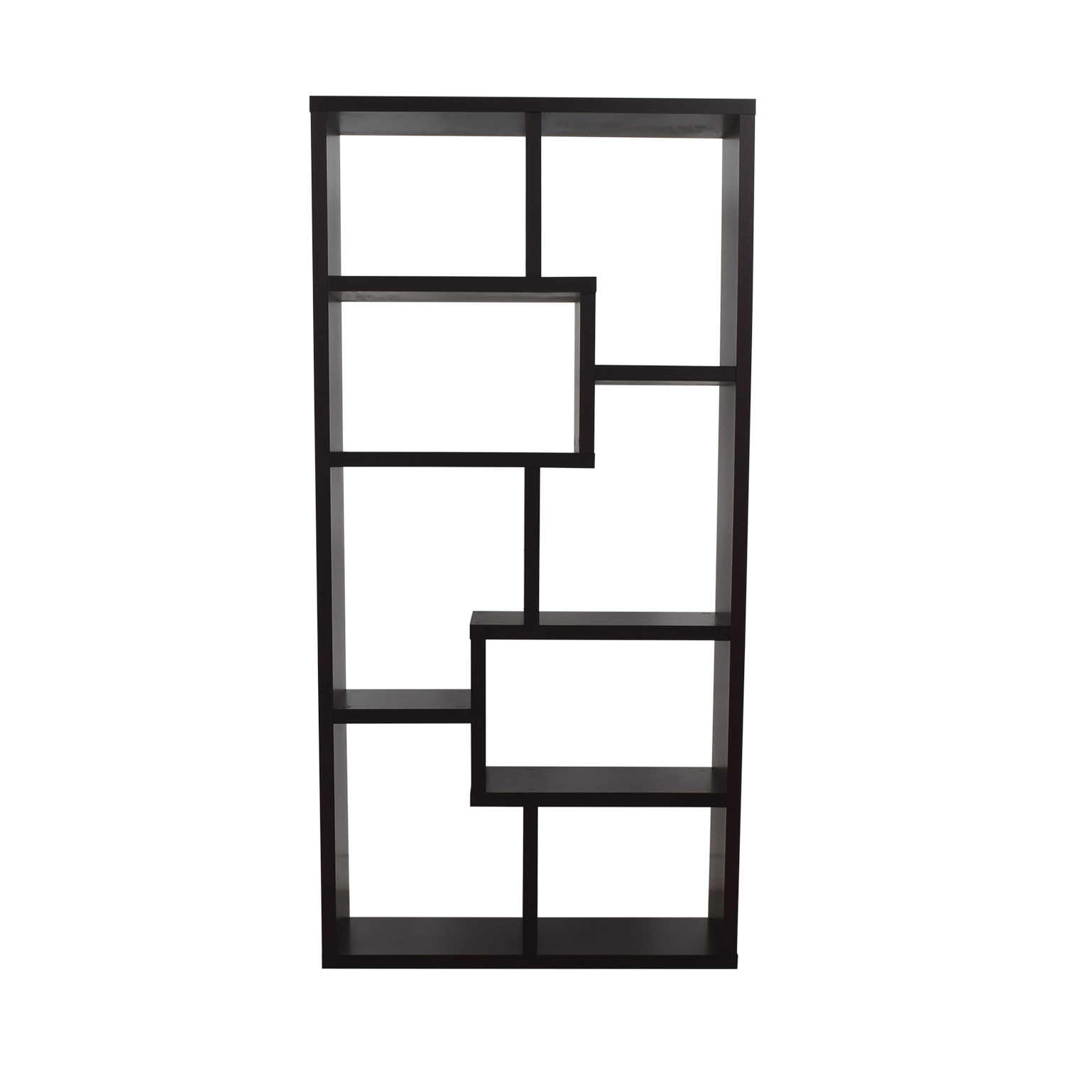 shop AllModern Geometric Bookcase AllModern Storage