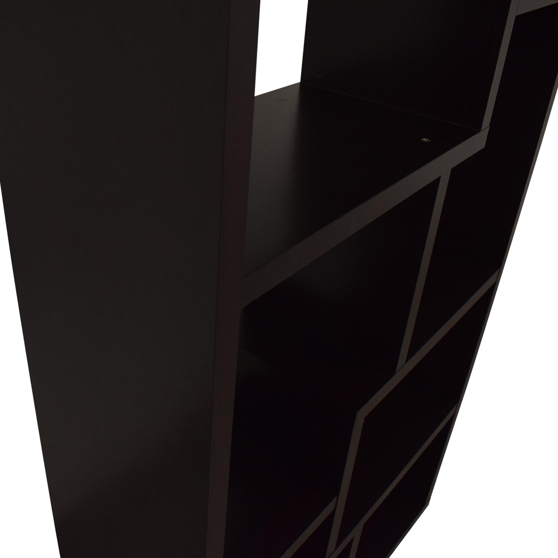 buy AllModern Geometric Bookcase AllModern Storage