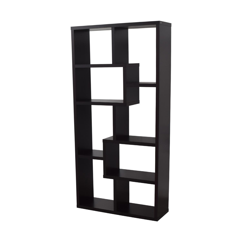 buy AllModern Geometric Bookcase AllModern
