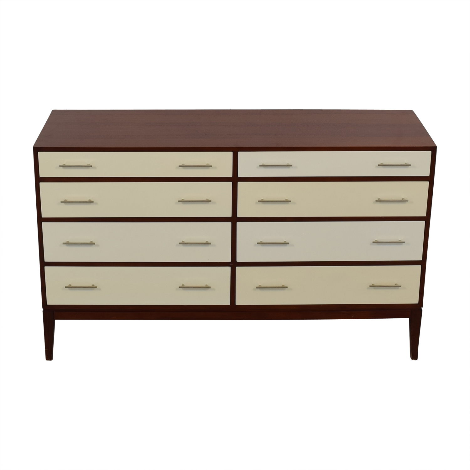 Mitchell Gold + Bob Williams Mitchell Gold + Bob Williams 8 Drawer Dresser brown and white