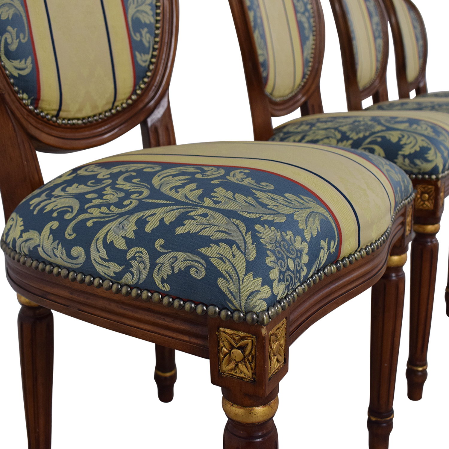 buy Vintage Upholstered Dining Chairs