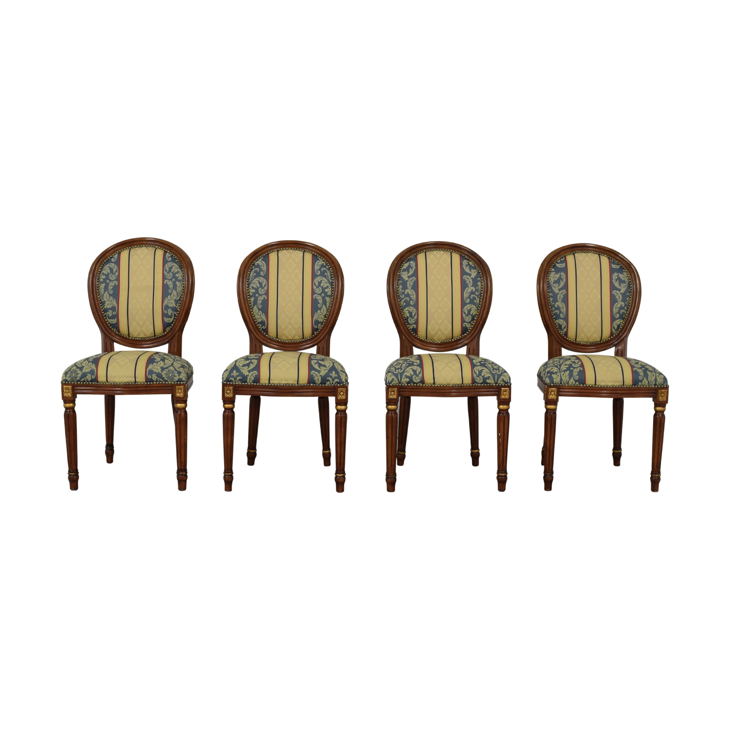 Vintage Upholstered Dining Chairs price