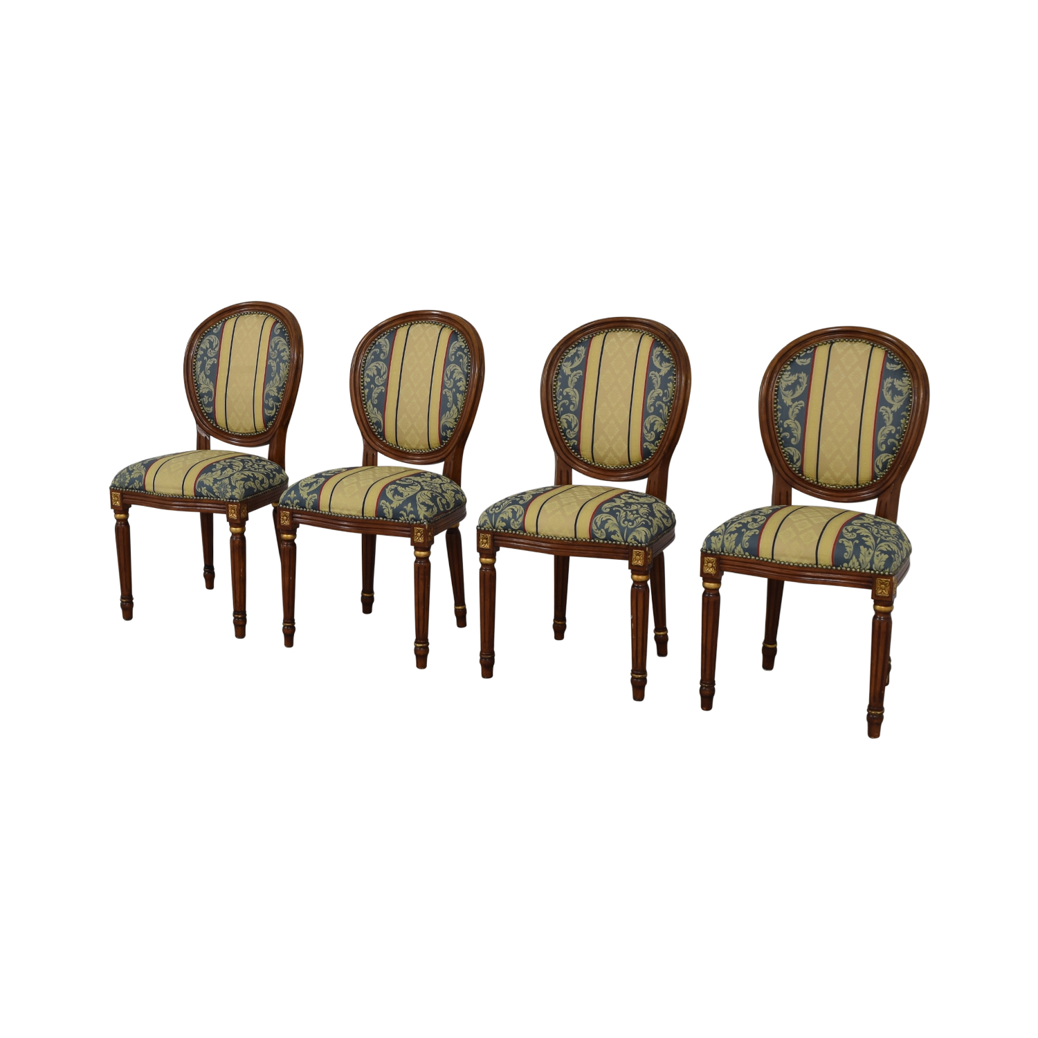 shop Vintage Upholstered Dining Chairs  Chairs