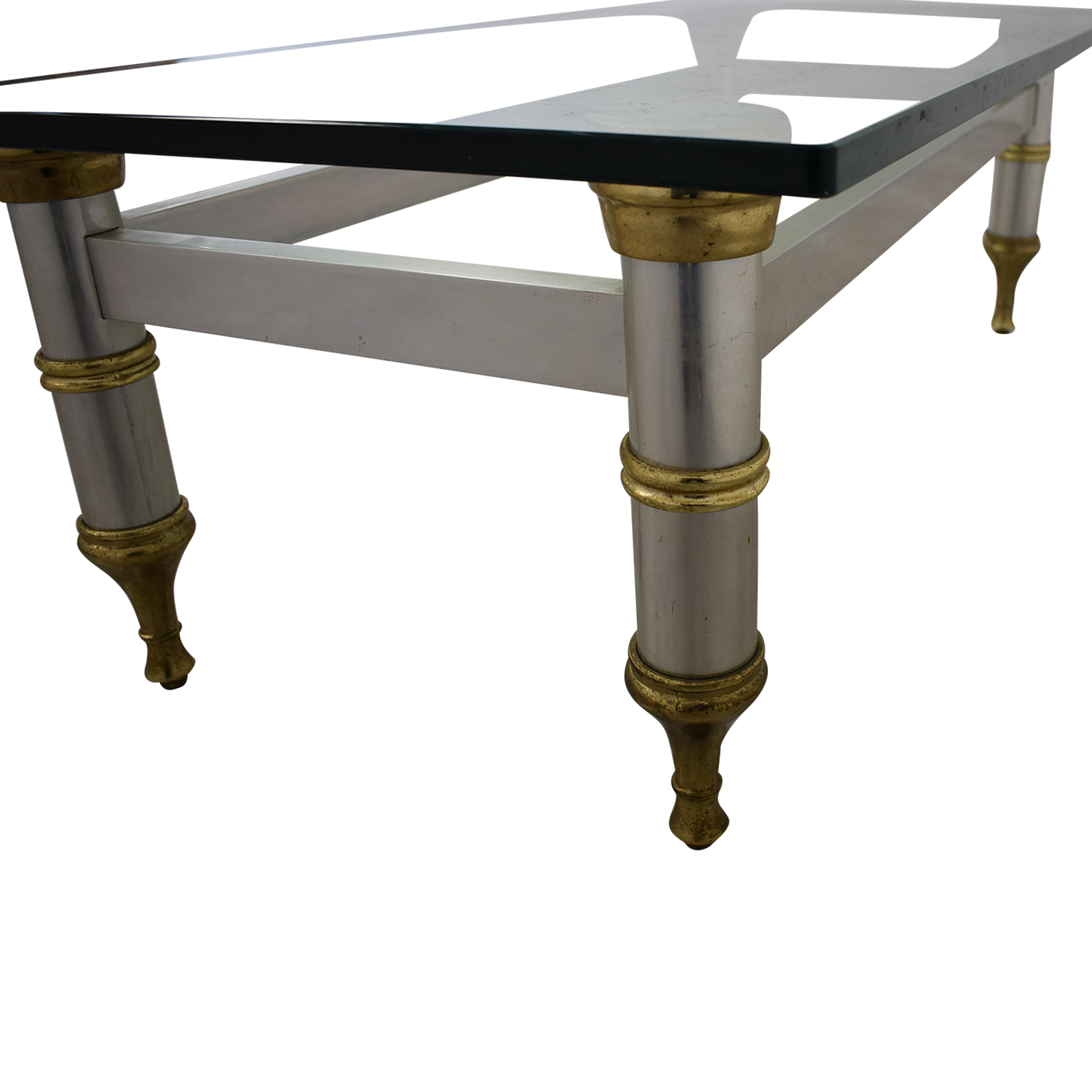 buy  Glass Topped Coffee Table online