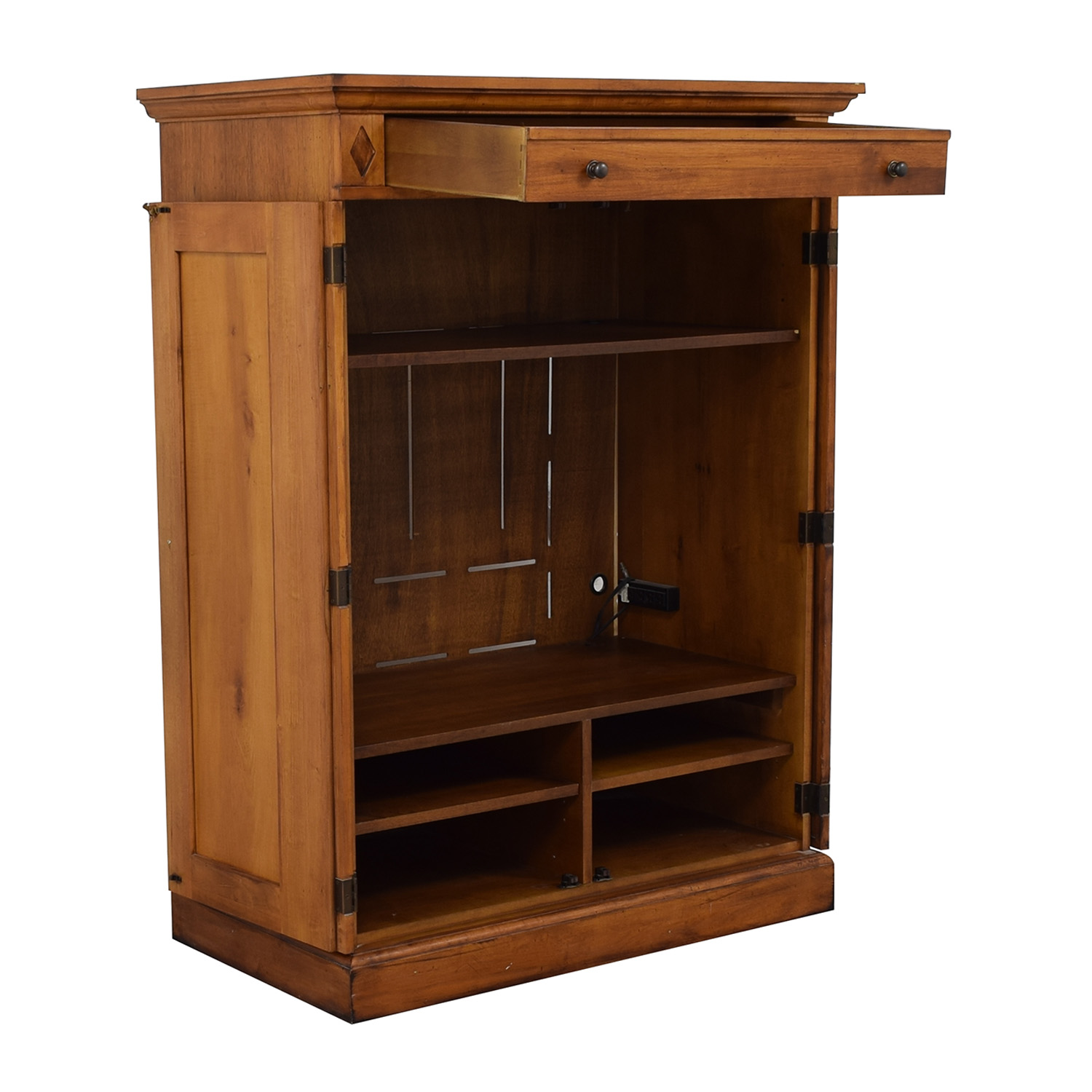 Romweber Romweber Wooden Entertainment Center for sale