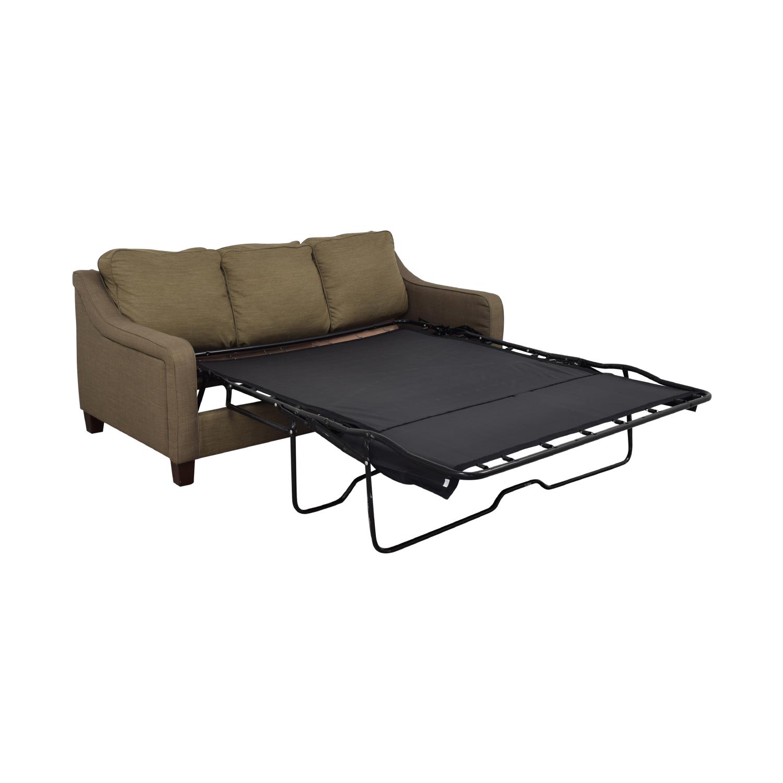 78% OFF - Jennifer Furniture Jennifer Furniture Convertible Sofa Queen Bed  / Sofas
