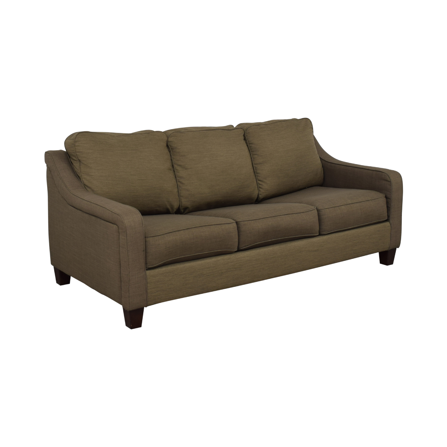 78% OFF   Jennifer Furniture Jennifer Furniture Convertible Sofa Queen Bed  / Sofas