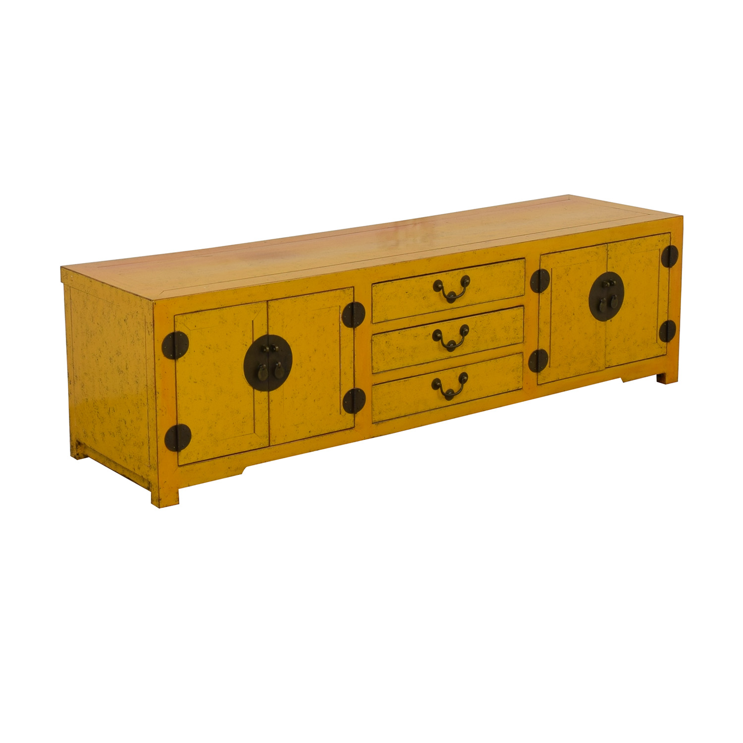 shop  Yellow Vintage Console Table online