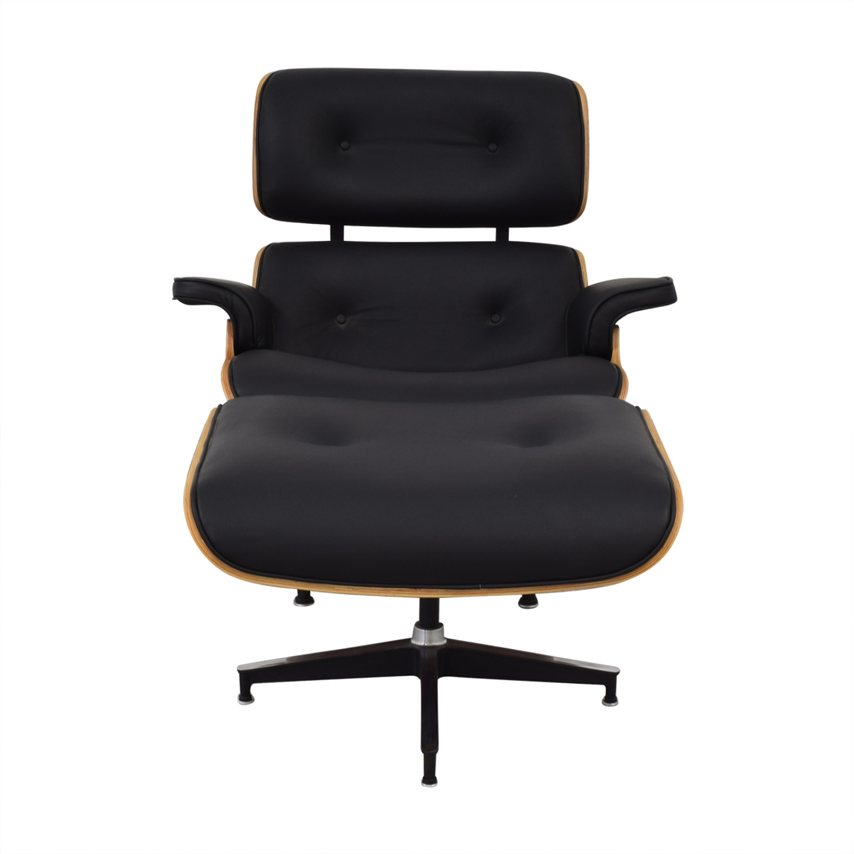 buy AllModern Eames Replica Wood Lounge Chair AllModern