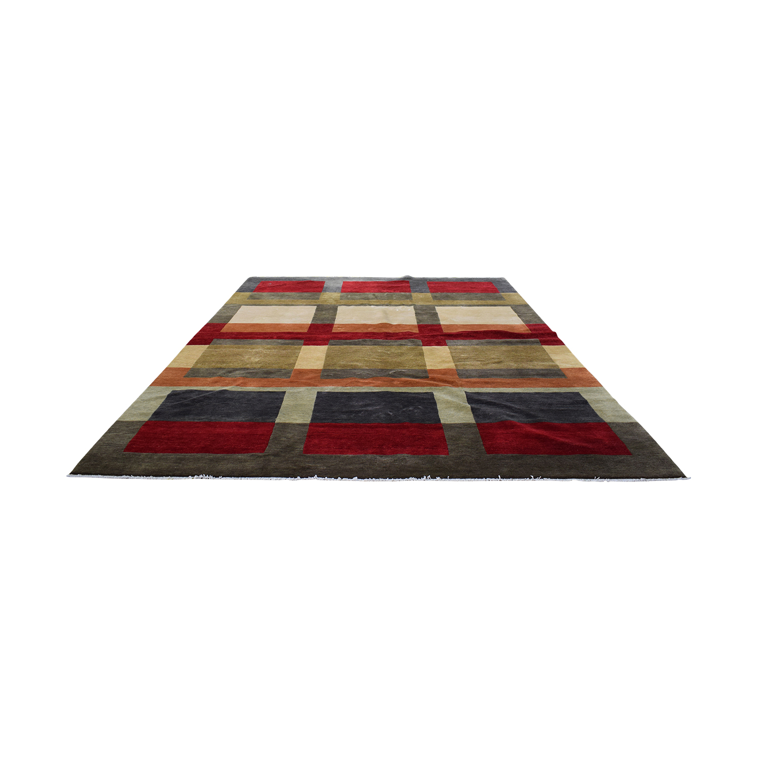 Ethan Allen Intersect Area Rug sale