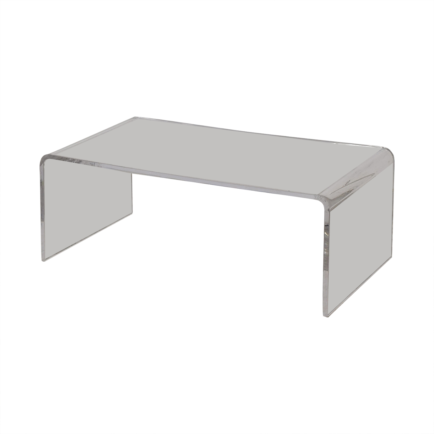 shop Cost Plus World Market Clear Acrylic Thad Coffee Table Cost Plus World Market Tables