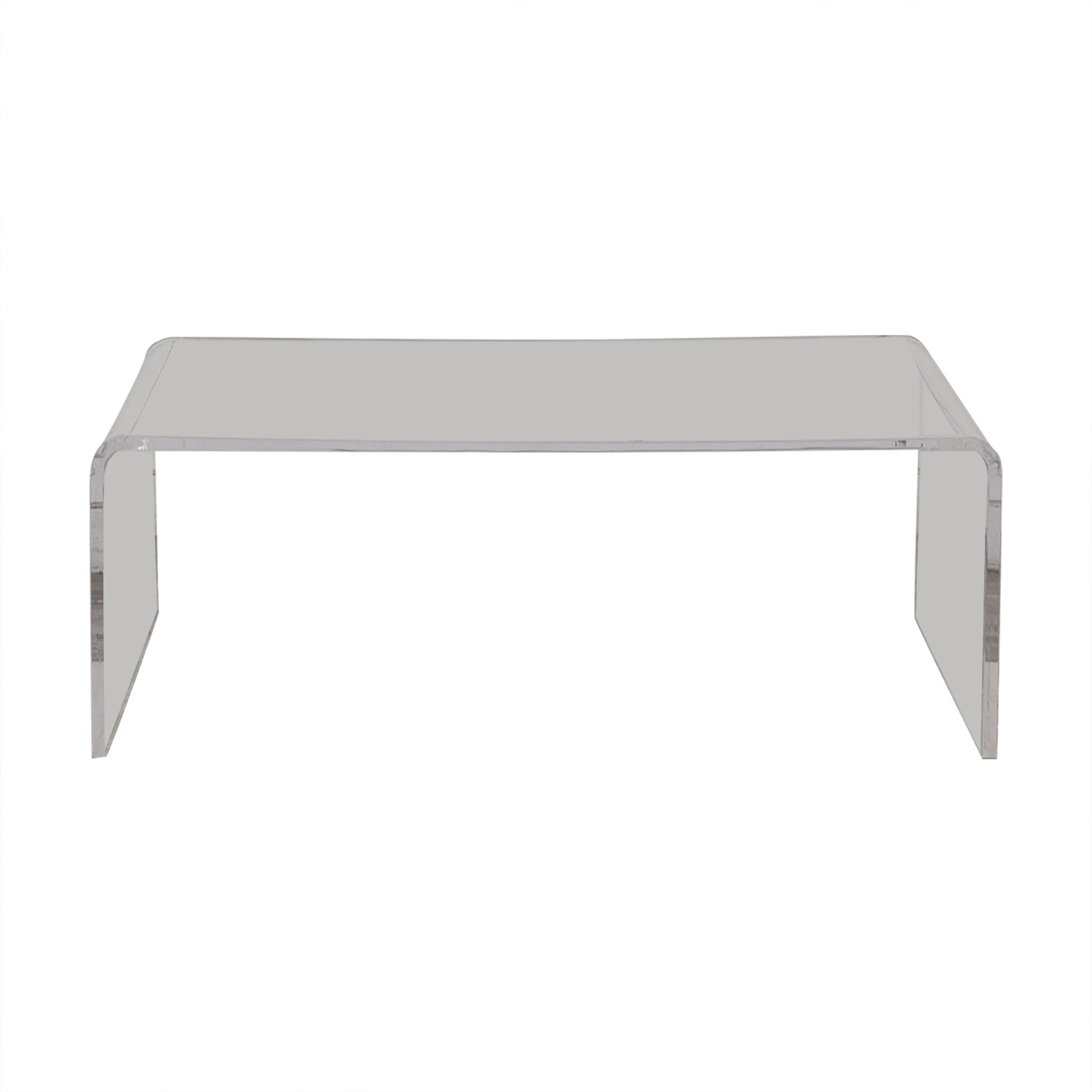 shop Cost Plus World Market Cost Plus World Market Clear Acrylic Thad Coffee Table online