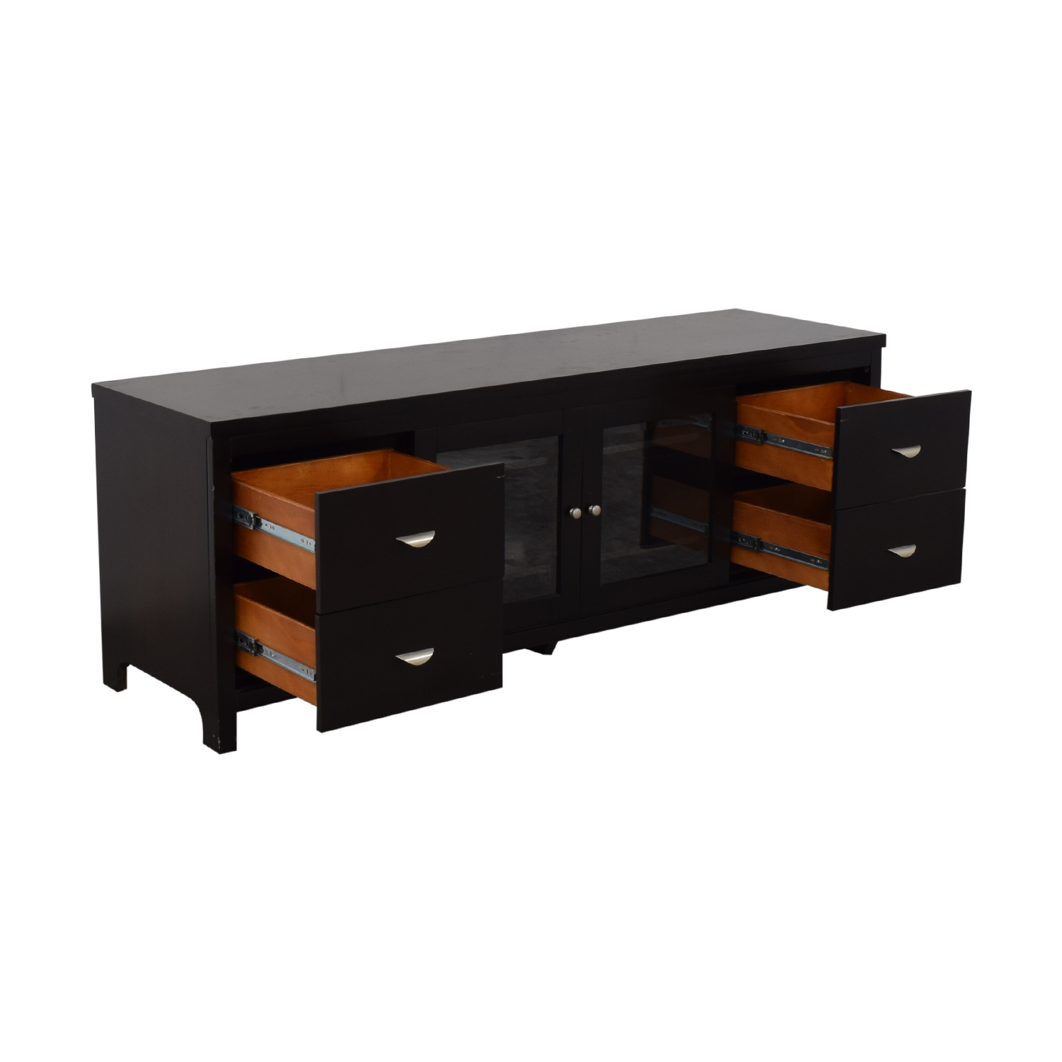 Abbyson Abbyson Clarkston Solid Wood Media Console