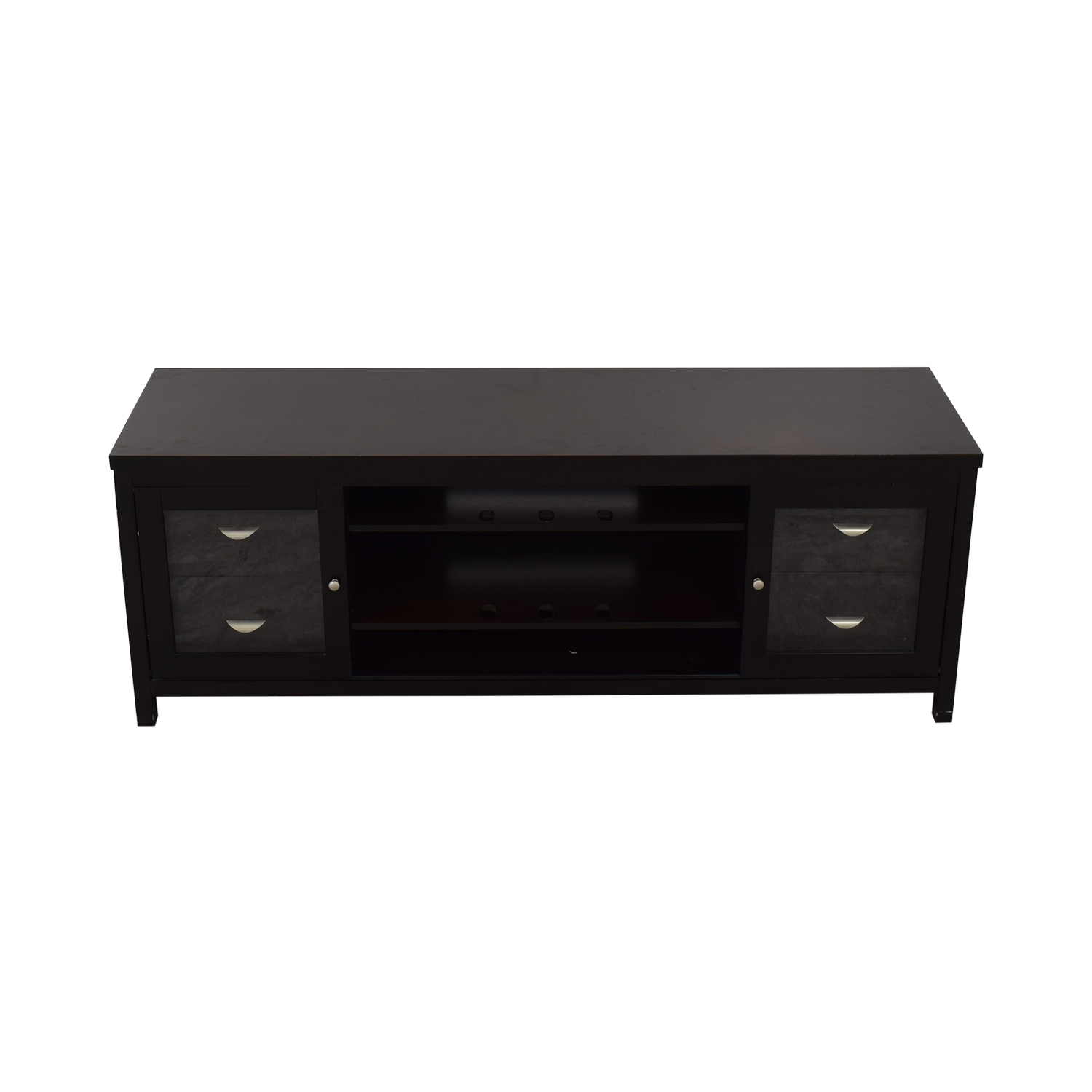 Abbyson Clarkston Solid Wood Media Console / Media Units
