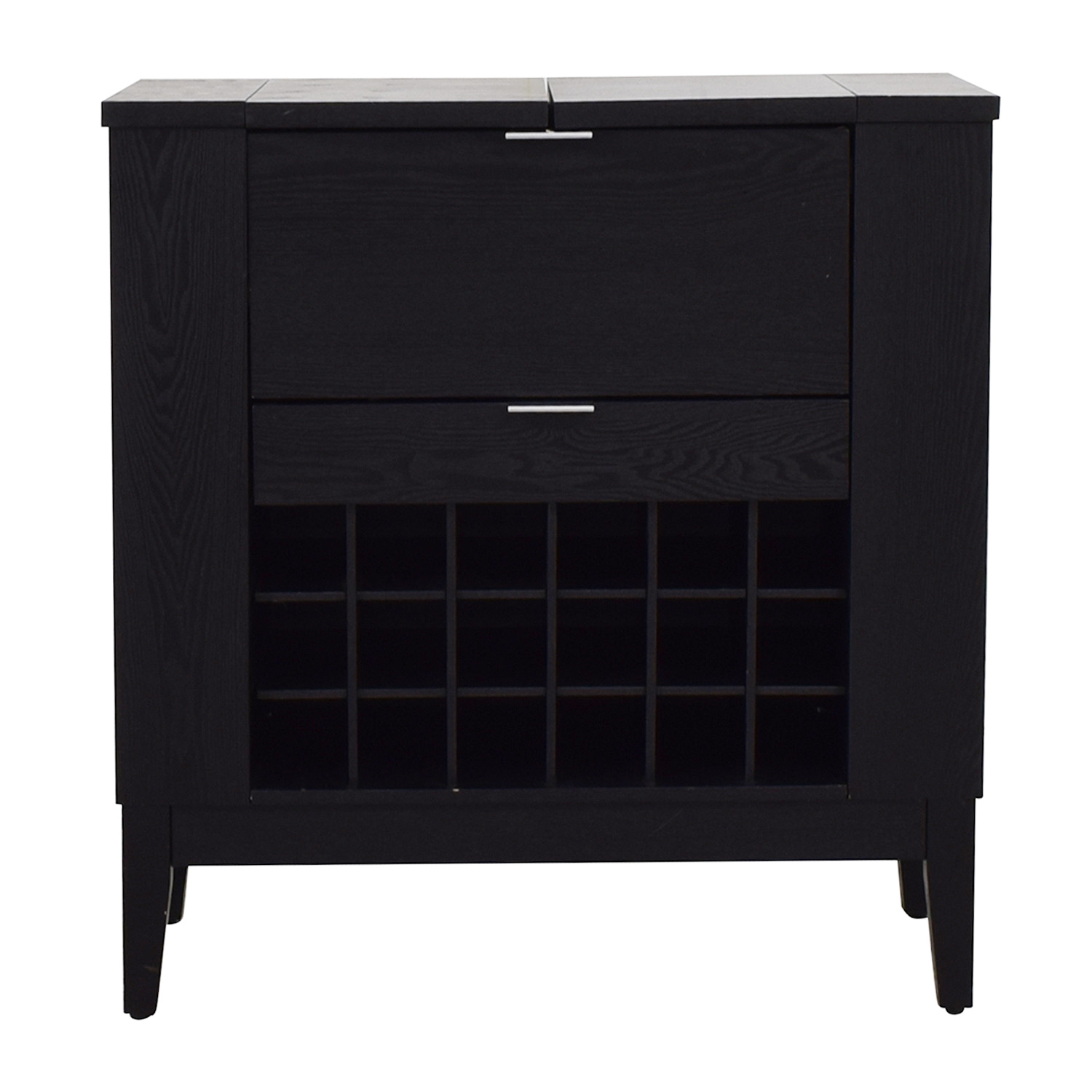 buy Crate & Barrel Parker Spirits Bourbon Cabinet Crate & Barrel