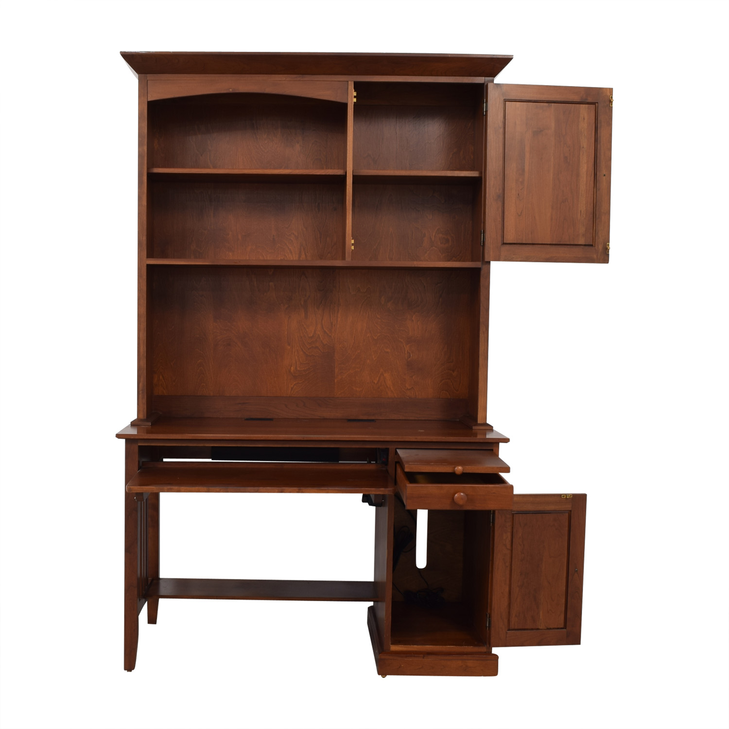 Ethan Allen Ethan Allen Computer Desk With Hutch dimensions