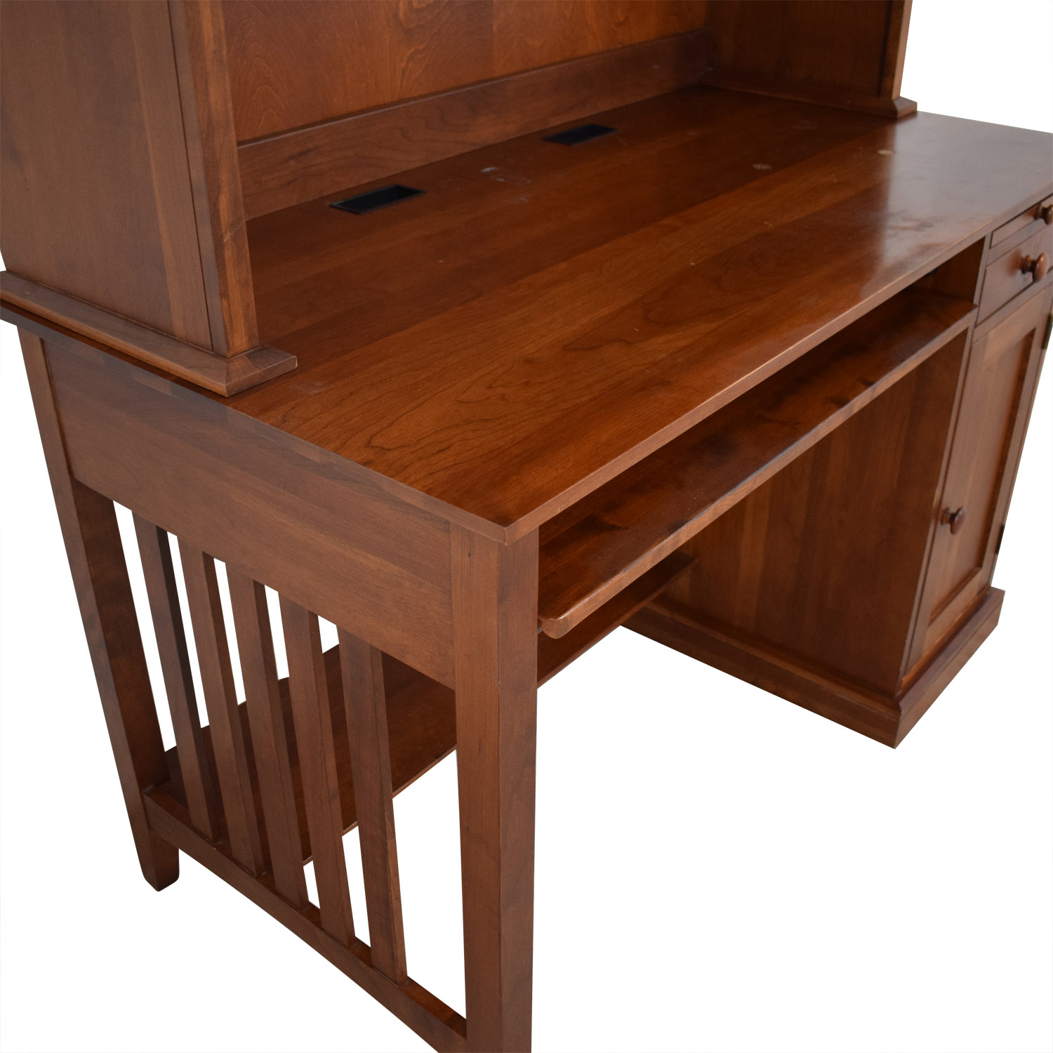Ethan Allen Ethan Allen Computer Desk With Hutch for sale