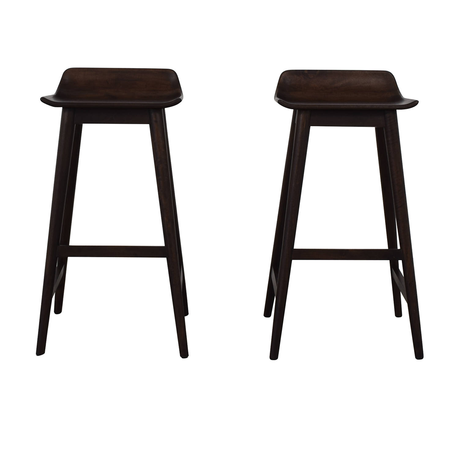 CB2 CB2 Wainscot Bar Stools for sale