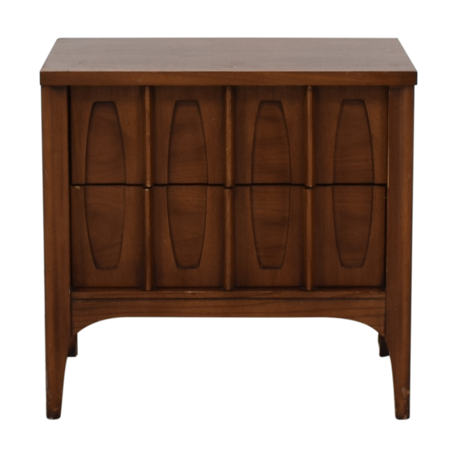Kent Coffey Kent Coffey Mid Century Night Stand brown