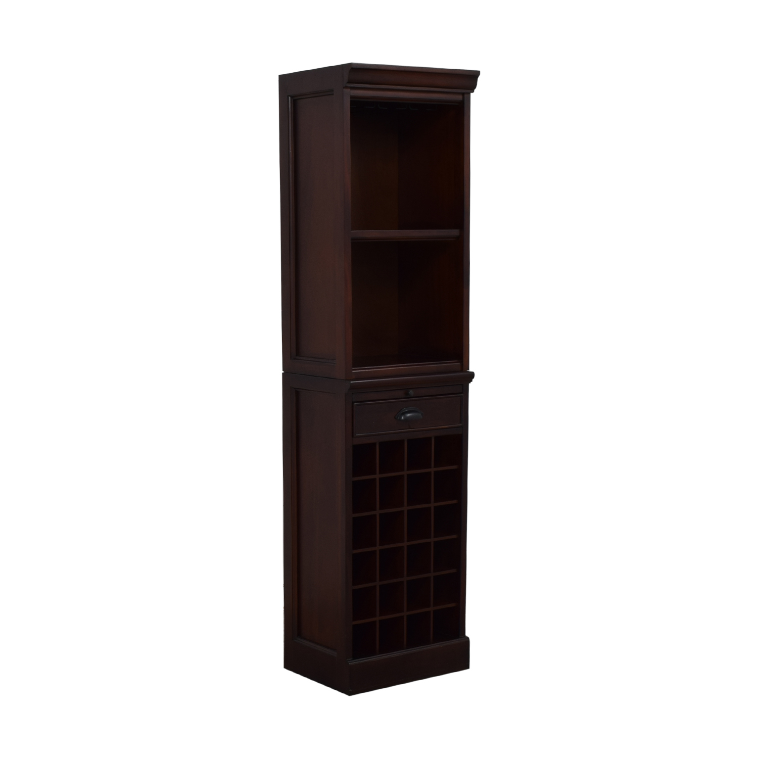 Pottery Barn Pottery Barn Wine Grid Cabinet Bar Tower used